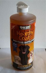 HealthyCoat Pet Vitamins for Dogs - 1 Quart